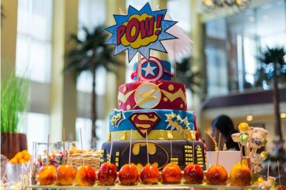 Ritz Carlton Doha Superhero Picnic